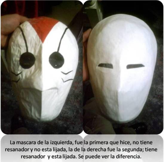 elaboracion de mascaras de papel Mascaracomparacion