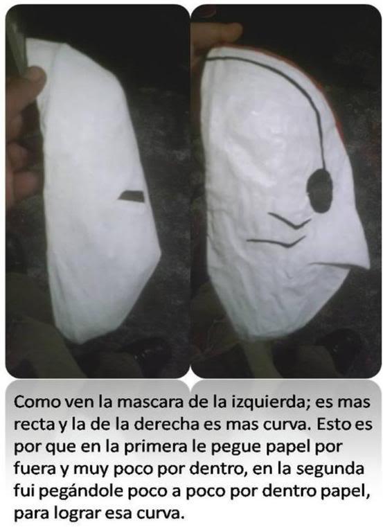 elaboracion de mascaras de papel Mascaracomparacion2