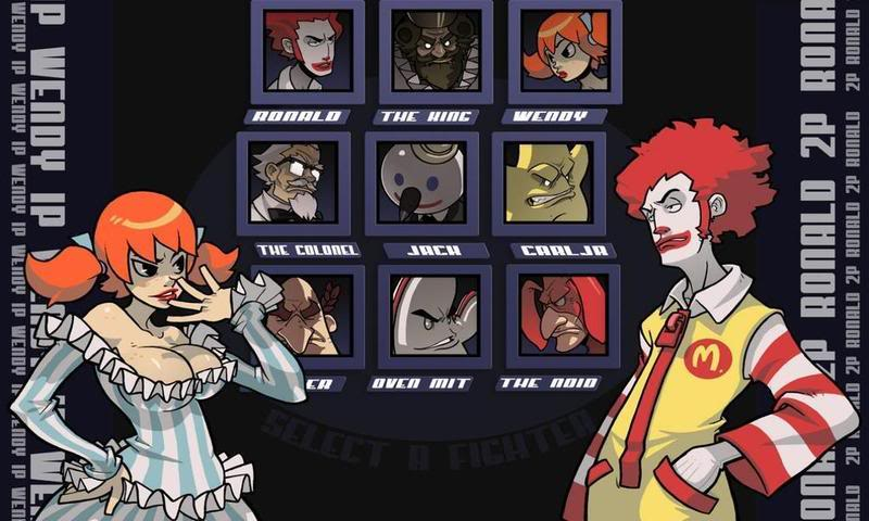 Pictures that make you lol Fastfoodfight