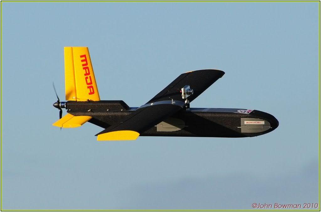 MAJA UAV Flyby
