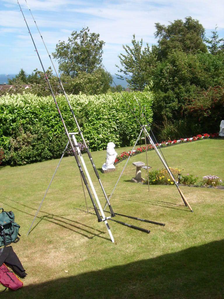 Fishing equipment Stands