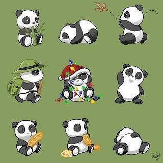 Regarde une feuille de personnage Cute_pandas