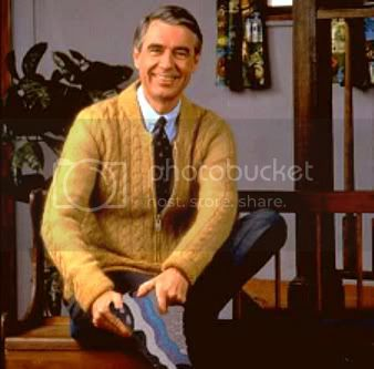 Hero's are those you would least expect... Mr-rogers