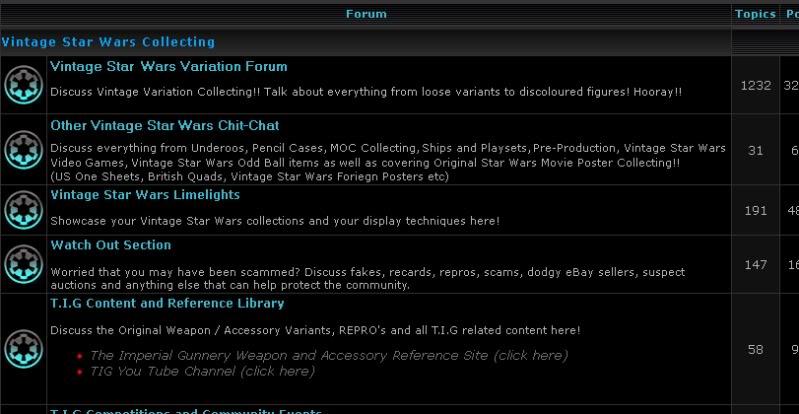 Section Restructure Ideas Forum