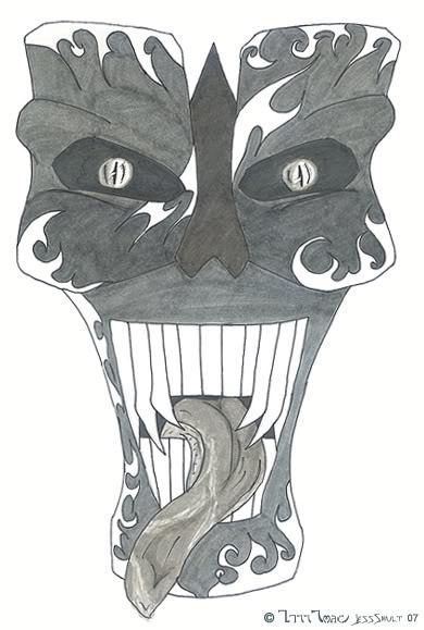 Hiro Arjan Hollow_Mask_by_Kitana_Matsuri