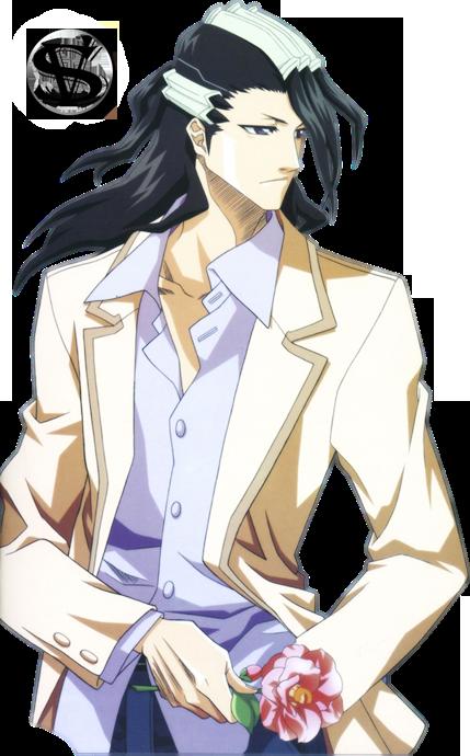 cuales estilos de los personajes animes les gusta mas? Byakuya-rose-Render-SV