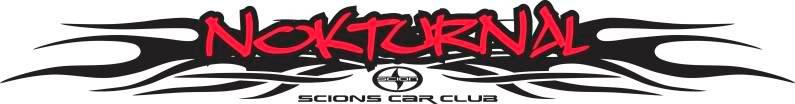 Nokturnal Scions Car Club NOKTURNAL2Red