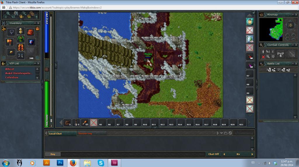 Tibia (Screenshots :D) - Página 2 Escalera_zpsd0d83ae6
