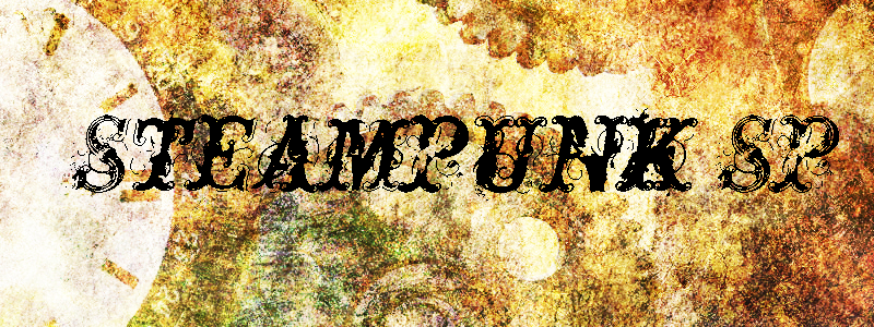 Banners para la web Steampunk