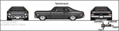 Võistlusautode reeglid ChevyNovaBase