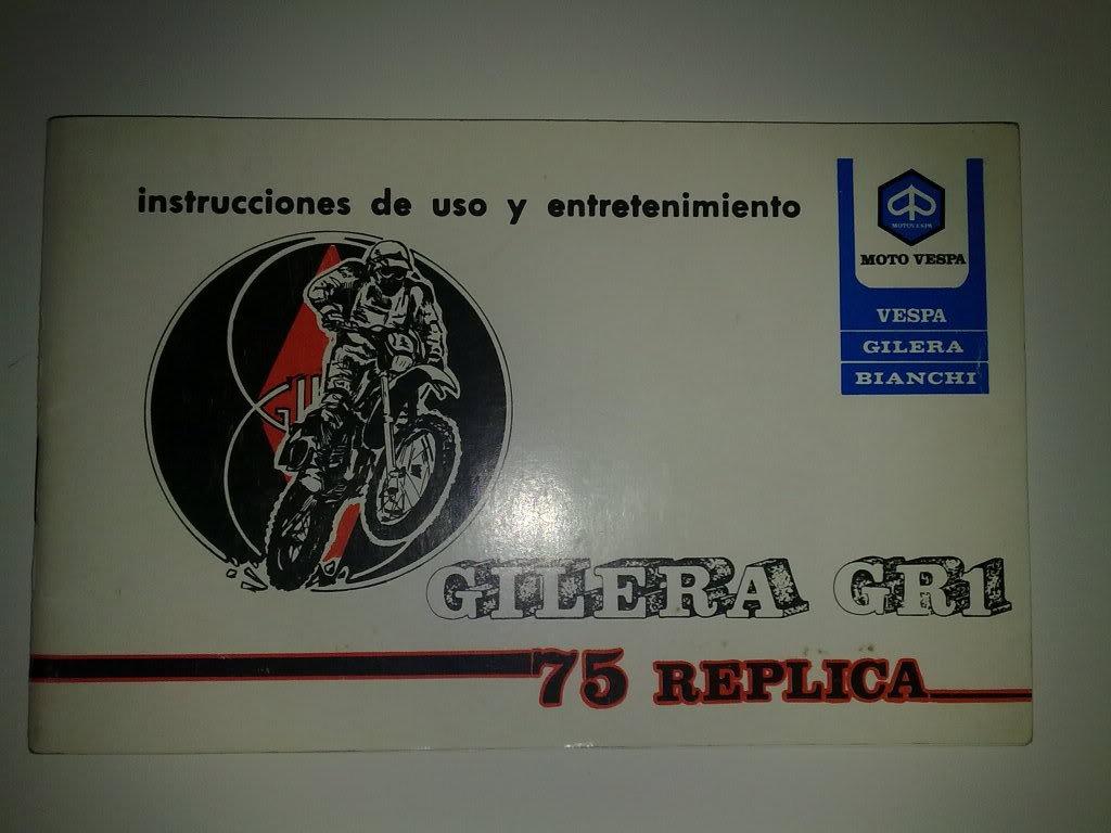 Gilera GR 1 75 Replica 21032011494