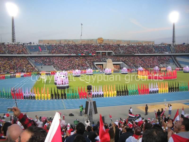 The Egyptian Fields of Dreams CairoStadiumCeremonyCopyRight