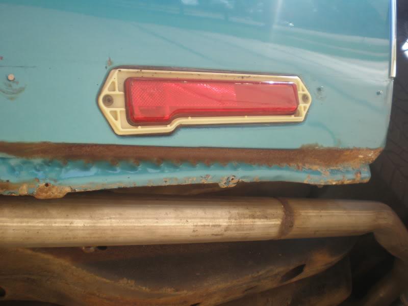 Rear rocker trim. 12-1