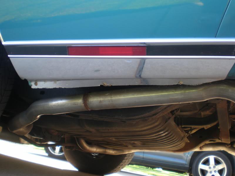 Rear rocker trim. 16-1