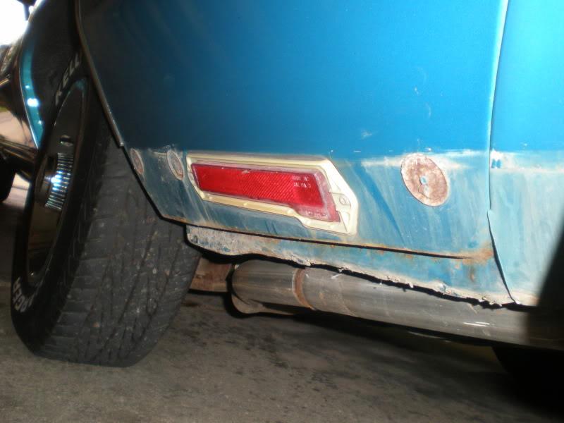 Rear rocker trim. 7-1