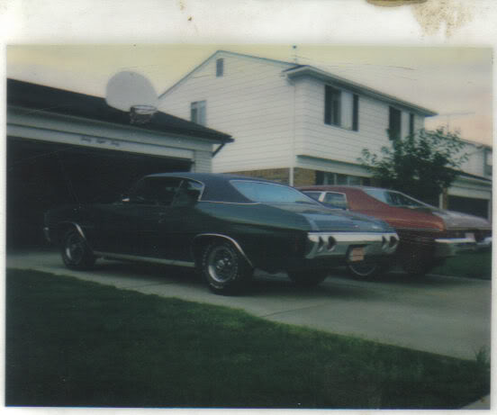 My dad's '71 Malibu with Ansen's. 71Chevelle3