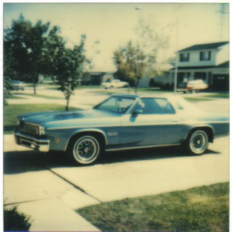 My dad's '75 Culass Salon. 75cutlass2
