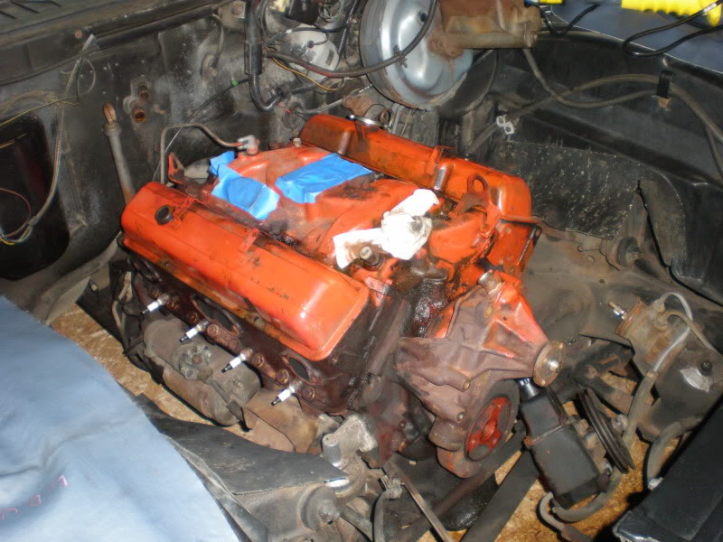 1974 Monte Carlo engine & engine bay restoration. P1010019