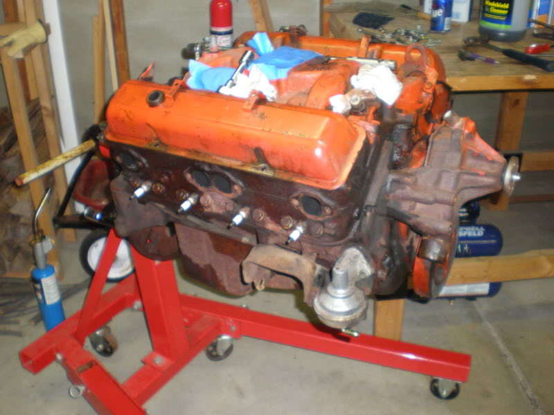 1974 Monte Carlo engine & engine bay restoration. P1020014