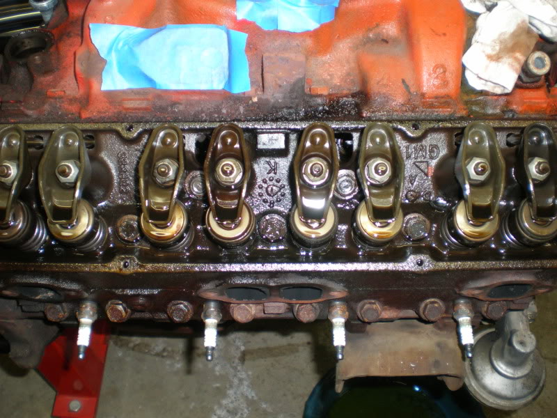 1974 Monte Carlo engine & engine bay restoration. P1020015