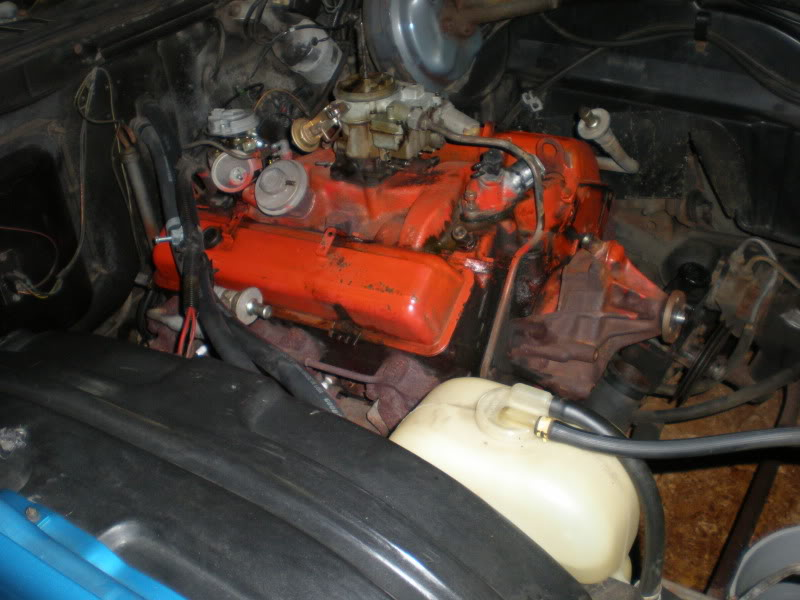 1974 Monte Carlo engine & engine bay restoration. PC290003