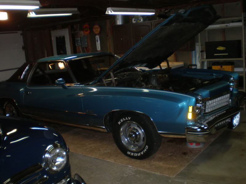 1974 Monte Carlo engine & engine bay restoration. PC290018