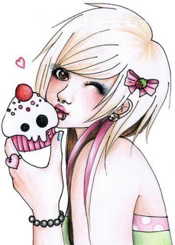 anime emo girls Animemogirl