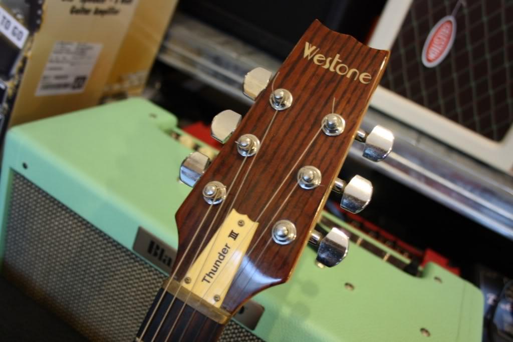 For sale: Westone Thunder III guitar, MIJ by Matsumoku 1981 02