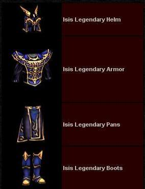 [Guia] Items Ancient (ACC) Isis_Legendary