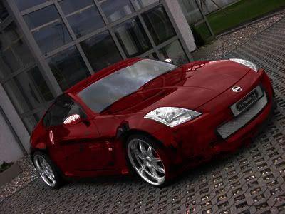 Photomontaje Nissan 350Z 3504