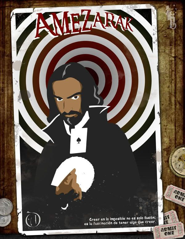 Amezarak, la vida a través de la fantasía épica Magicianv3600