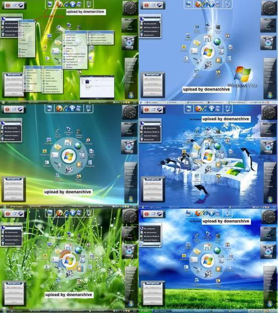 Windows XP SP3 Xp-Viena Edition 2009 | 650MB 2009v7-1a