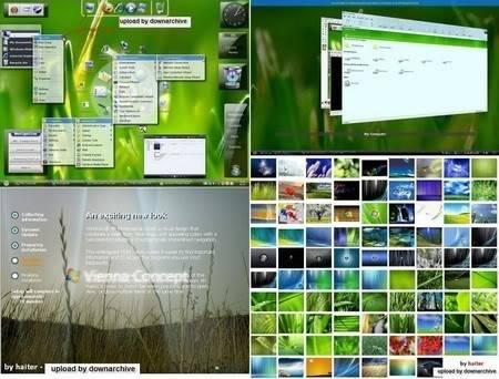 Windows XP SP3 Xp-Viena Edition 2009 | 650MB 2009v7main