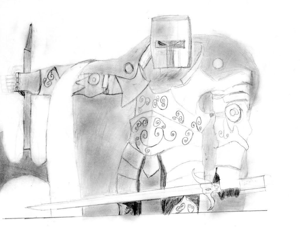 could i get some design ideas for a, suit of crusader armor Crusader001