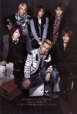 KAT-TUN là fan của DBSK, Rain và 4Minute  Kat-tun