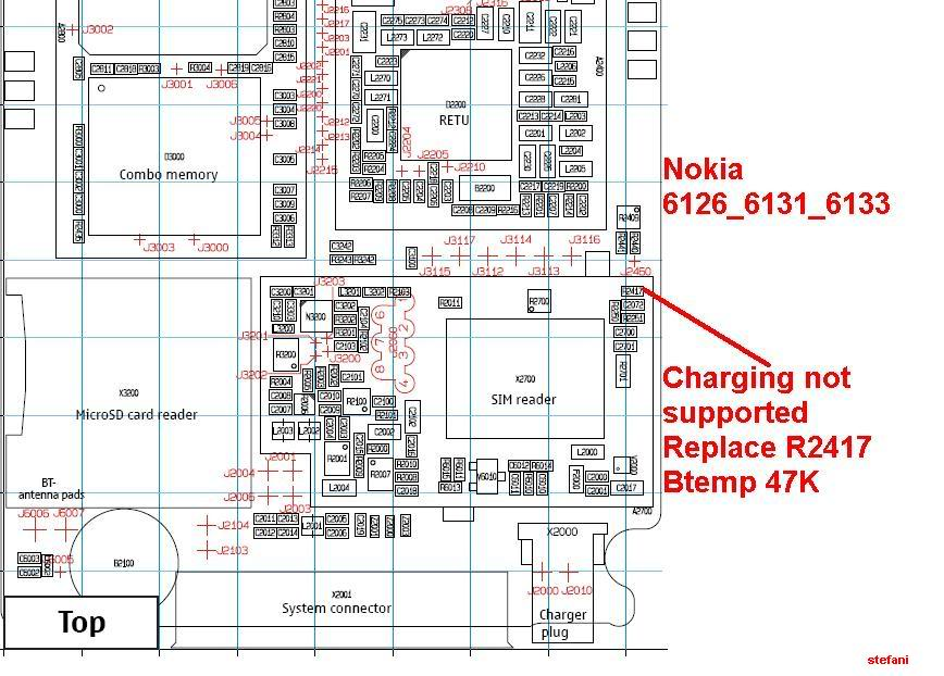 Charging Not Supported..... And.....Not Charging 100% Solution Nokia6126_6131_6133Chargingnotsuppo