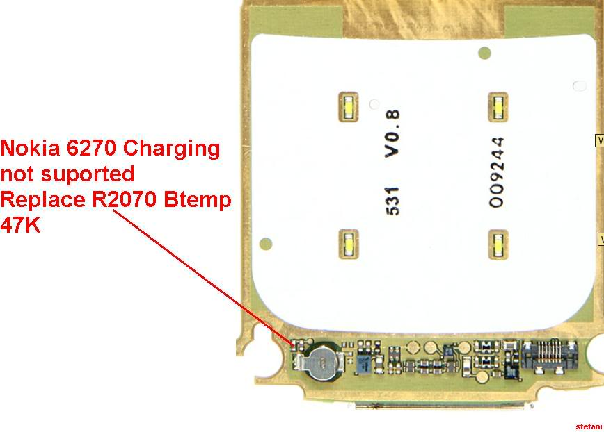 Charging Not Supported..... And.....Not Charging 100% Solution Nokia6270Chargingnotsuported