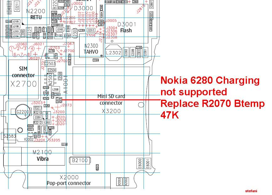 Charging Not Supported..... And.....Not Charging 100% Solution Nokia6280Chargingnotsupported