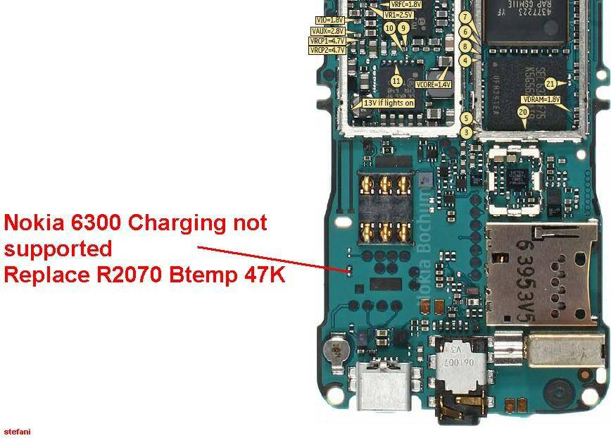 Charging Not Supported..... And.....Not Charging 100% Solution Nokia6300Chargingnotsupported