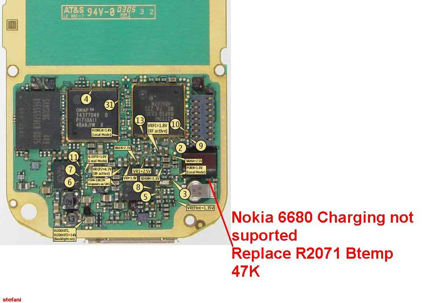 Charging Not Supported..... And.....Not Charging 100% Solution Nokia6680Chargingnotsuported