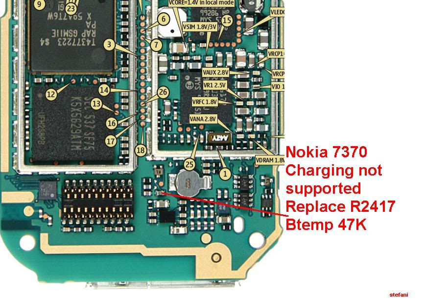 Charging Not Supported..... And.....Not Charging 100% Solution Nokia7370Chargingnotsupported