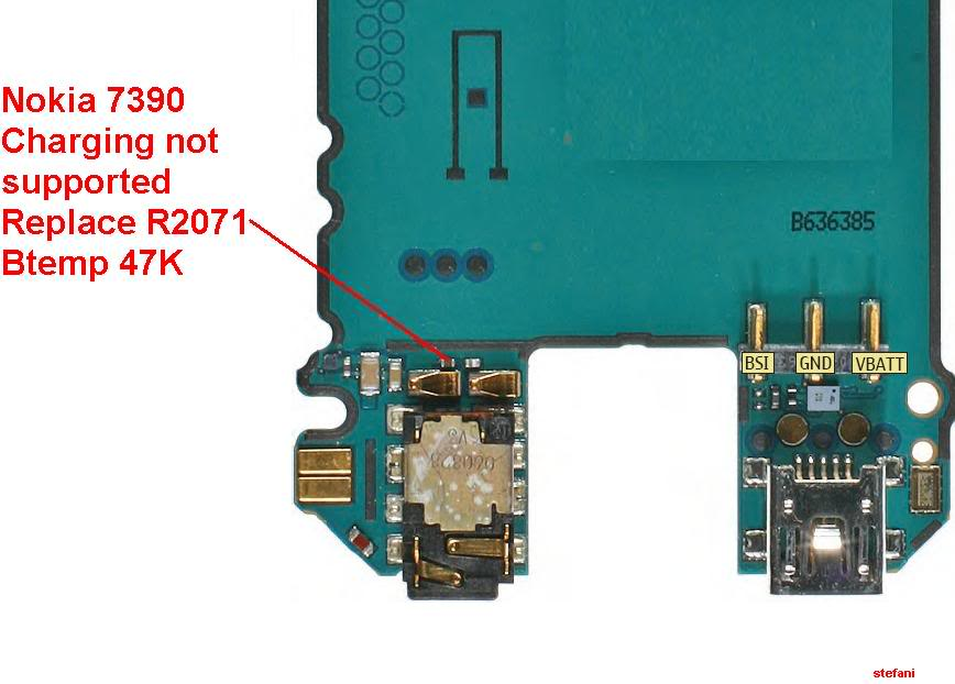 Charging Not Supported..... And.....Not Charging 100% Solution Nokia7390Chargingnotsupported