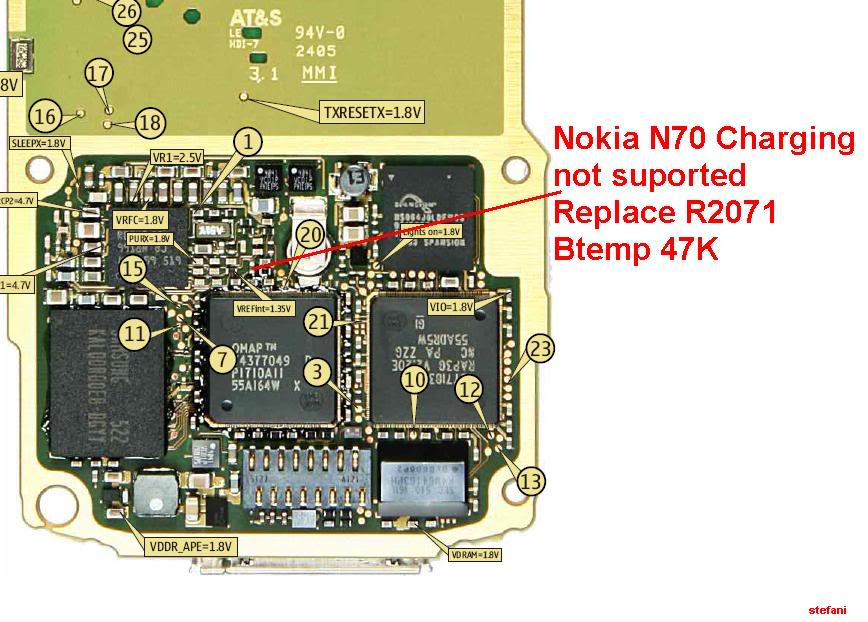 Charging Not Supported..... And.....Not Charging 100% Solution NokiaN70_N72Chargingnotsuported