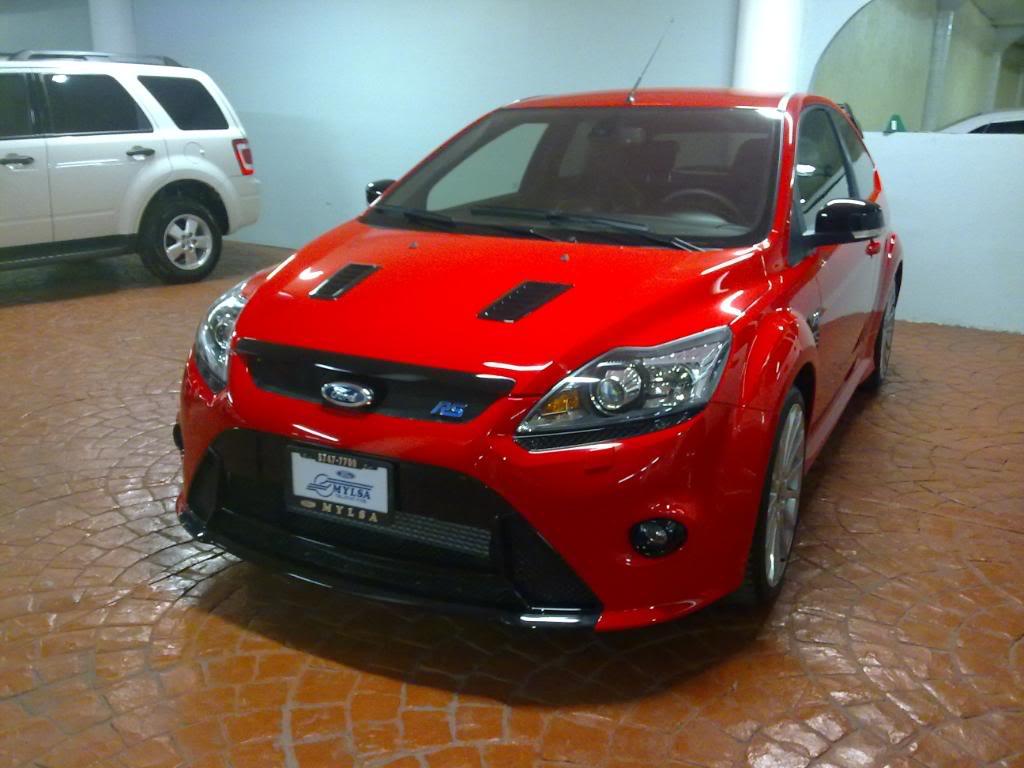 Focus RS ROJO 13032010137