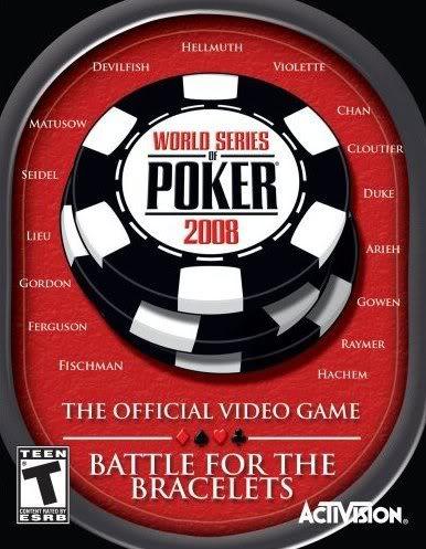 World Series of Poker 2008 Battle for the Bracelets Cover