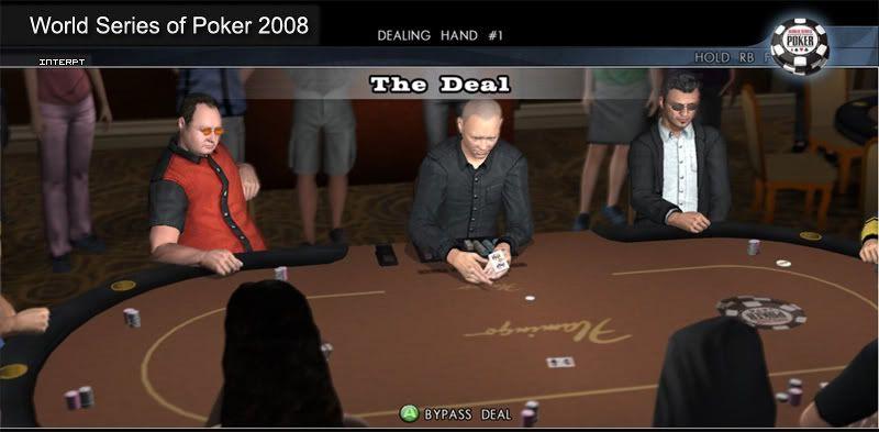 World Series of Poker 2008 Battle for the Bracelets Screen3