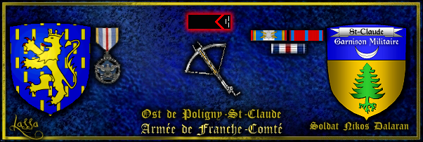 Rapport hebdomadaire du Connétable SoldatNikosDalaran