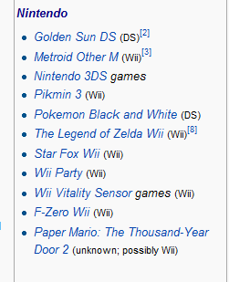 Gaming News Nintendolist