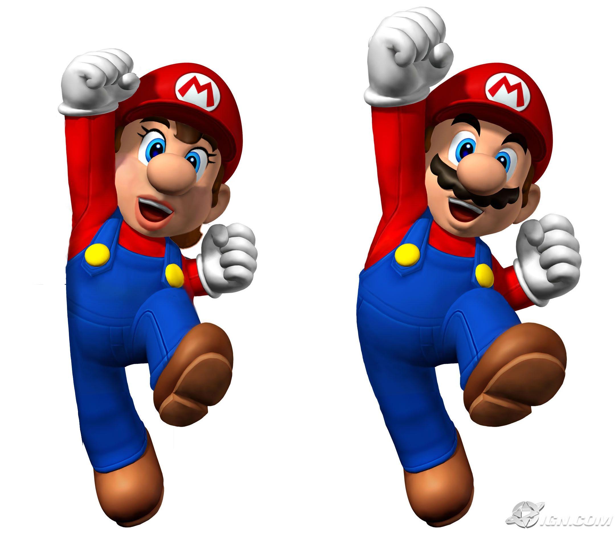 The Nintendorks Gender-Bender Contest! [Results Announced!] - Page 2 Mariogenderbendfinished