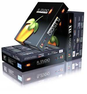 Fruity Loops Studio XXL v9.0.3 Regged Portable BoxesStackedLayered